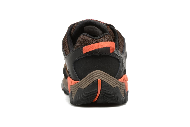 Chaussures de sport Merrell All Out Blaze 2 Gtx Marron vue droite