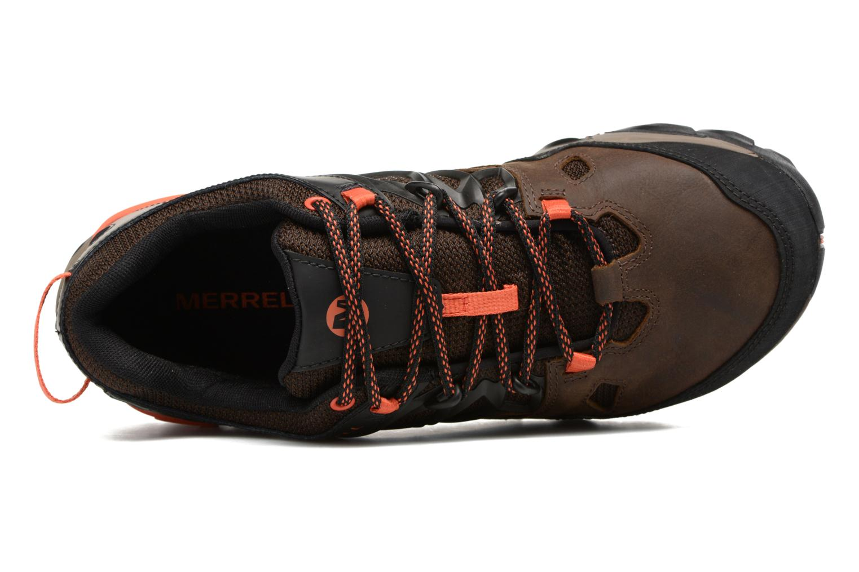 Chaussures de sport Merrell All Out Blaze 2 Gtx Marron vue gauche