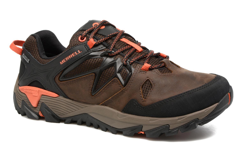 Chaussures de sport Merrell All Out Blaze 2 Gtx Marron vue détail/paire