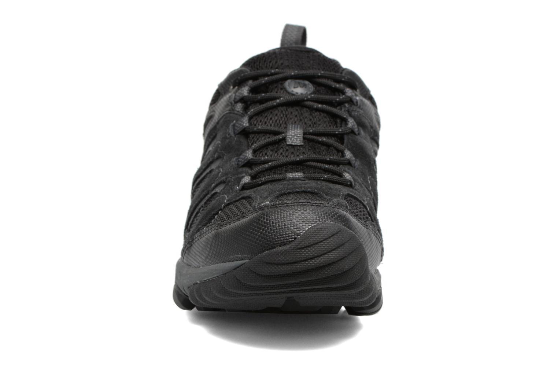 Chaussures de sport Merrell Outmost Vent Gtx Noir vue portées chaussures