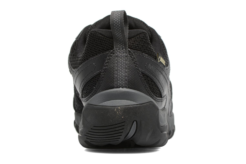Chaussures de sport Merrell Outmost Vent Gtx Noir vue droite