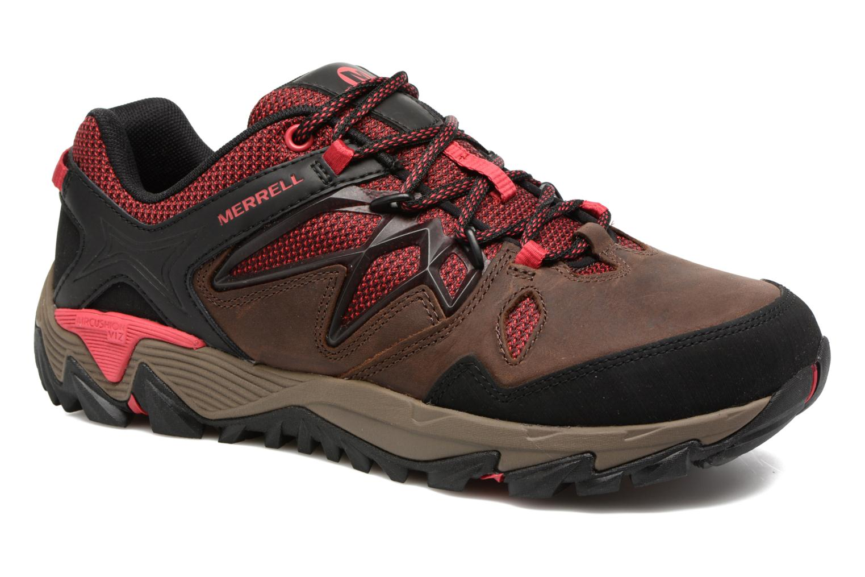 Chaussures de sport Merrell All Out Blaze 2 Marron vue détail/paire