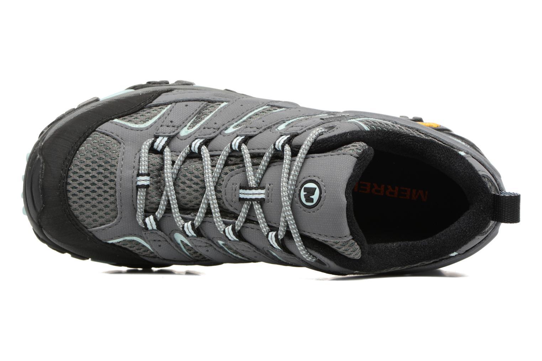 Chaussures de sport Merrell Moab 2 Gtx Gris vue gauche