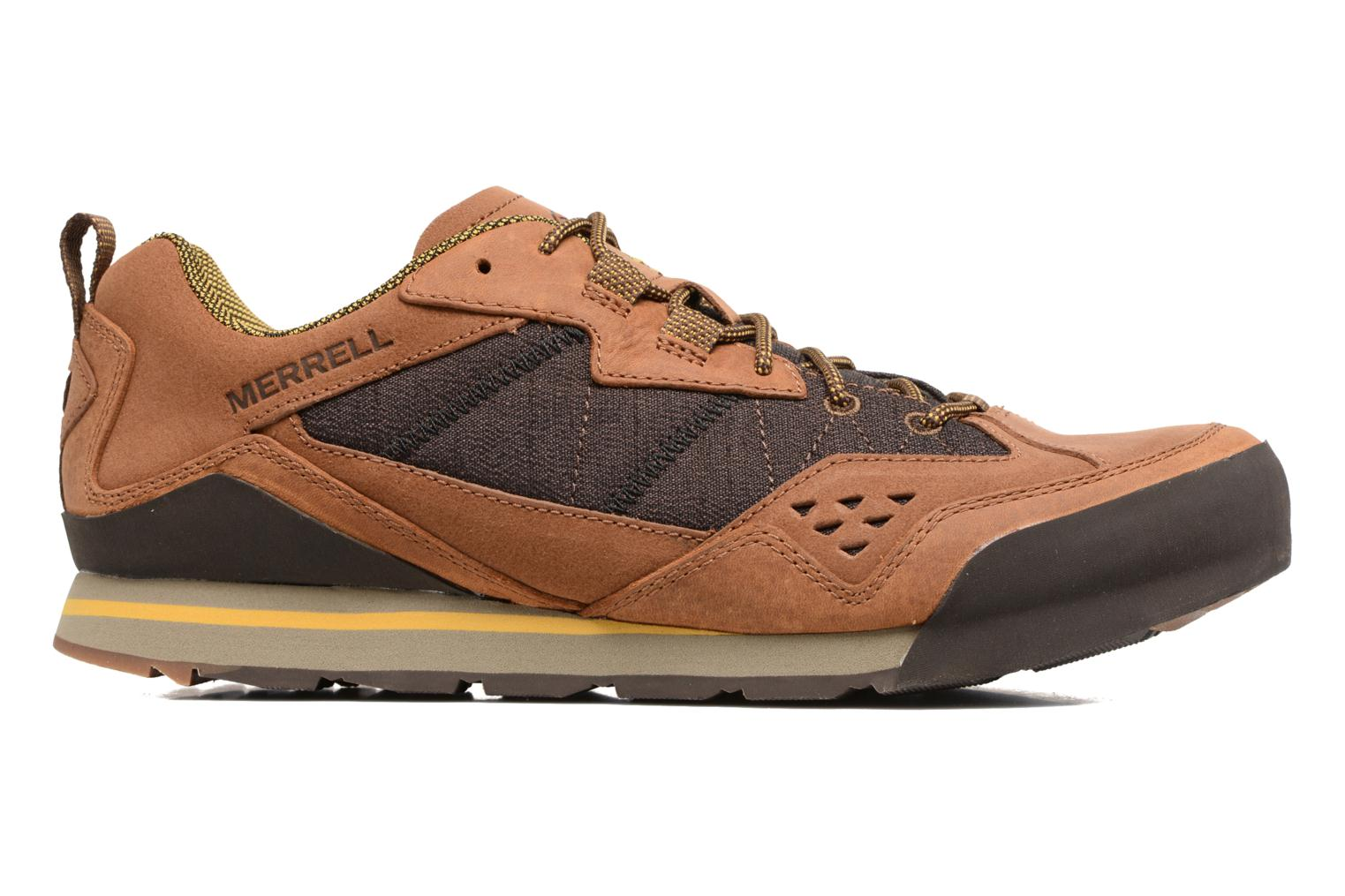 Sport shoes Merrell Burnt Rock Brown back view