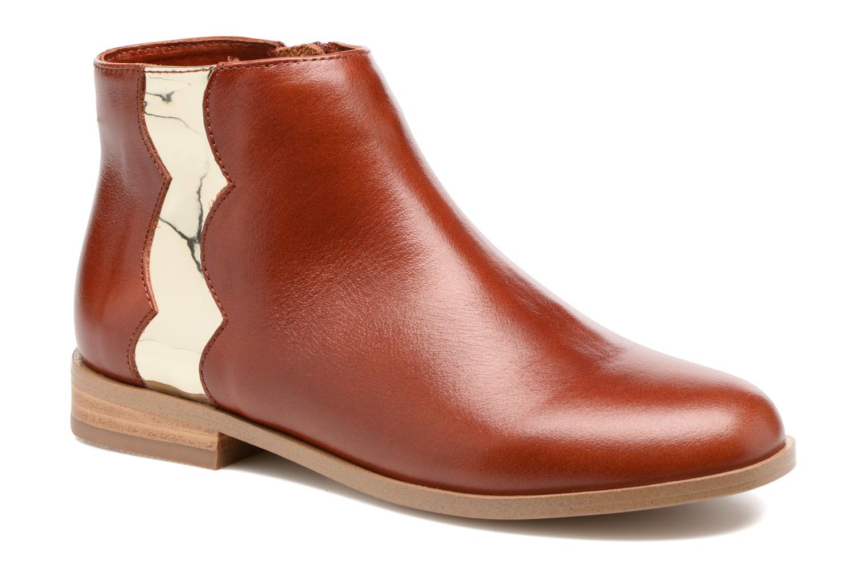Bottines et boots Mellow Yellow Mnceano Marron vue détail/paire