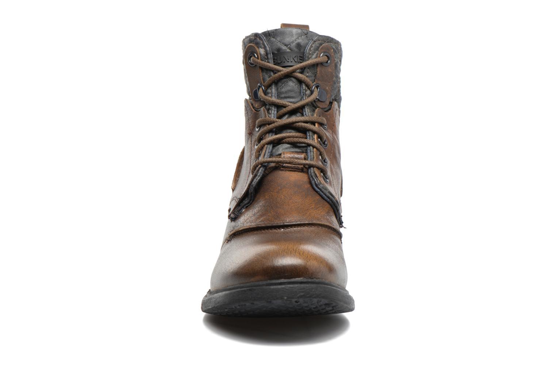 Bottines et boots Bunker Bono Pop Marron vue portées chaussures