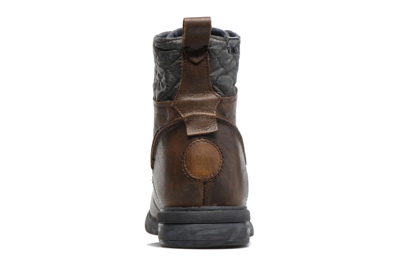 Bottines et boots Bunker Bono Pop Marron vue droite