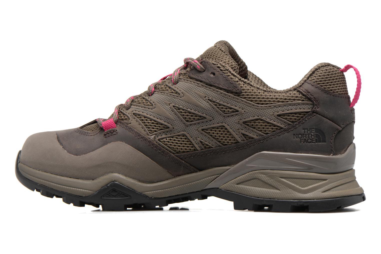 Chaussures de sport The North Face Hedgehog Hike Gris vue face