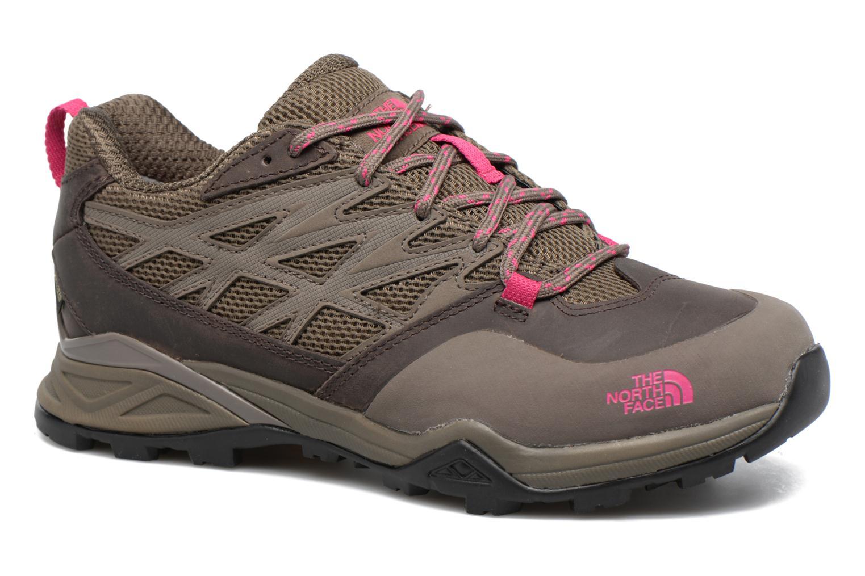 Chaussures de sport The North Face Hedgehog Hike Gris vue détail/paire