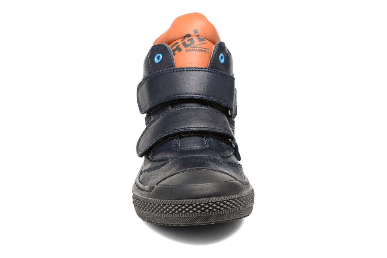 Baskets Romagnoli Donatien Bleu vue portées chaussures