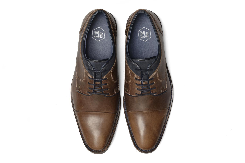 Chaussures à lacets Mr SARENZA Walber Vert vue portées chaussures