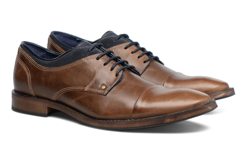 Chaussures à lacets Mr SARENZA Walber Vert vue derrière