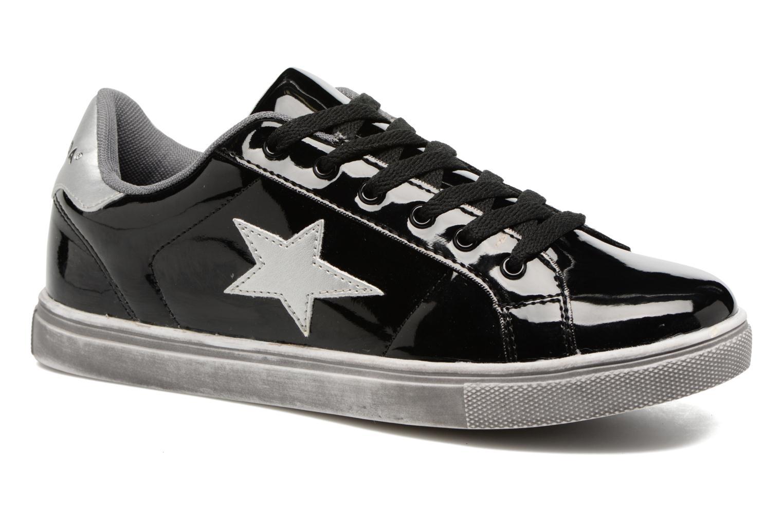 Baskets Vero Moda Star Sneaker Noir vue détail/paire