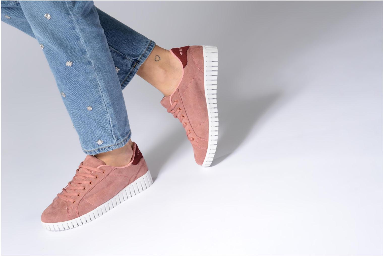 Sally Sneaker Mahogany rose