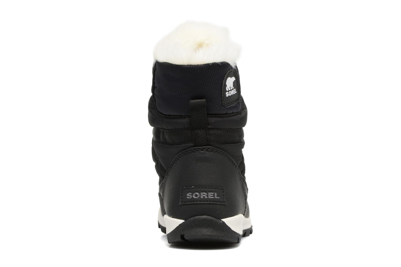 Chaussures de sport Sorel Whitney Short Lace Noir vue droite