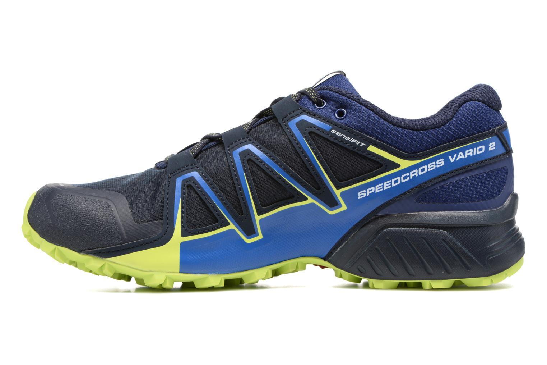 Chaussures de sport Salomon Speedcross Vario 2 Bleu vue face
