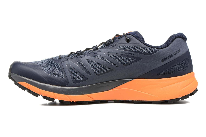 Chaussures de sport Salomon Sense Ride Bleu vue face