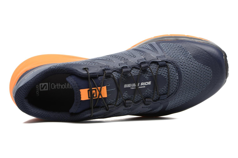 Chaussures de sport Salomon Sense Ride Bleu vue gauche