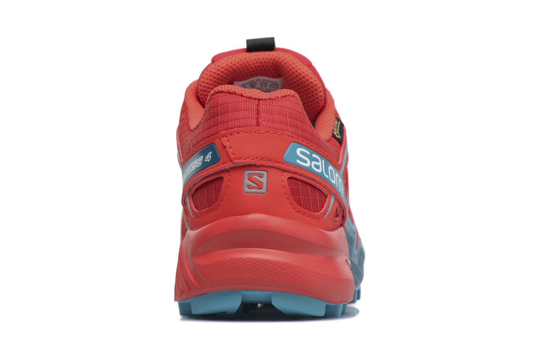 Sportschuhe Salomon Speedcross 4 Gtx W rot ansicht von rechts