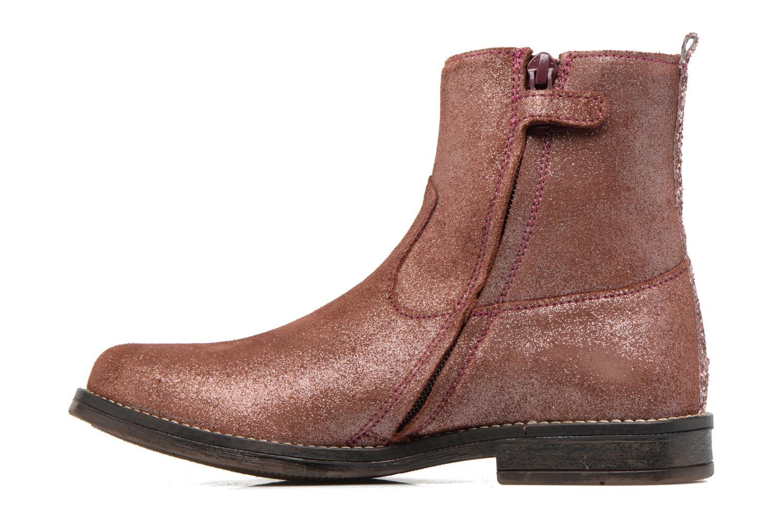 Bottines et boots Minibel Nour Rose vue face