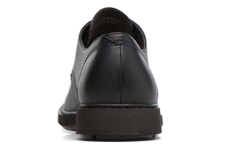 Chaussures à lacets Camper Neuman K100152 Noir vue droite