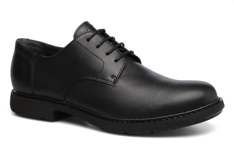 Chaussures à lacets Camper Neuman K100152 Noir vue détail/paire