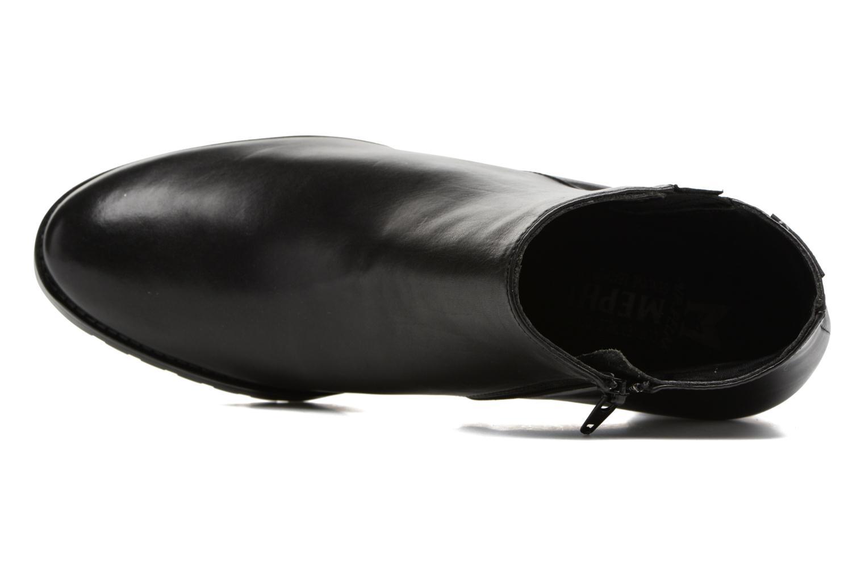 Bottines et boots Mephisto Jamila Noir vue gauche