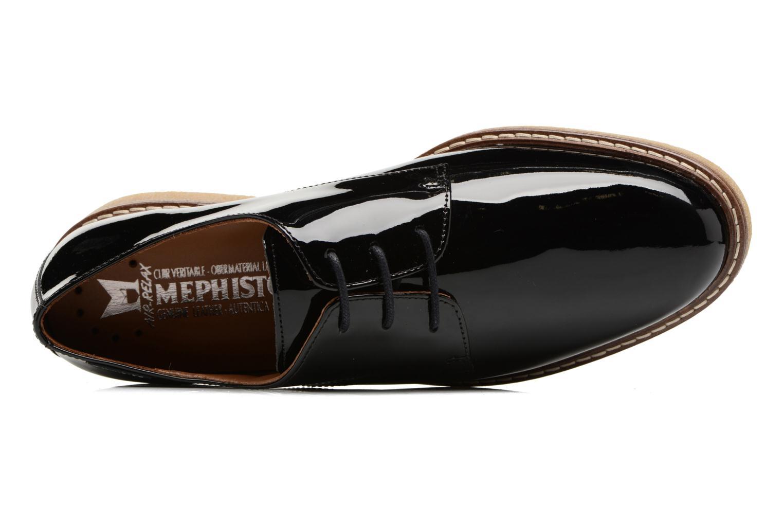 Chaussures à lacets Mephisto Fany Noir vue gauche