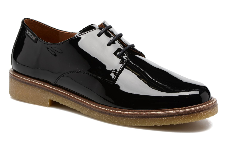 Chaussures à lacets Mephisto Fany Noir vue détail/paire