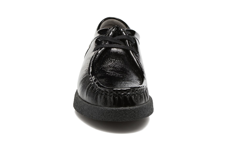 Chaussures à lacets Mephisto Christy Noir vue portées chaussures