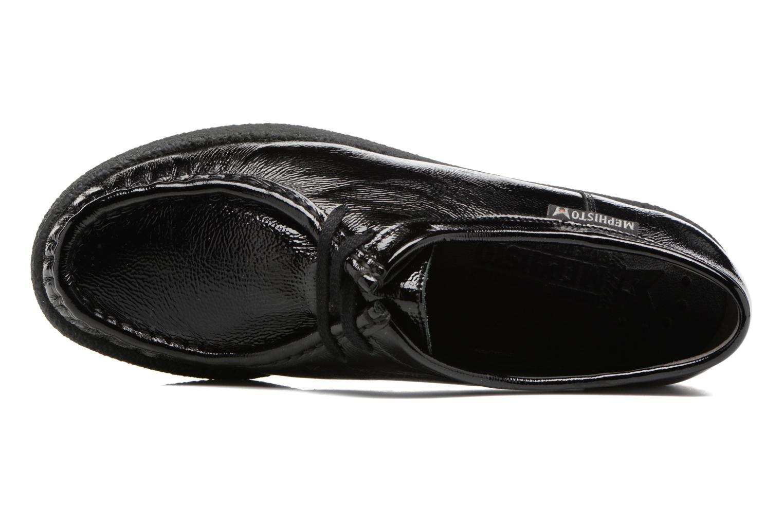 Chaussures à lacets Mephisto Christy Noir vue gauche