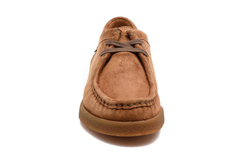 Chaussures à lacets Mephisto Christy Marron vue portées chaussures