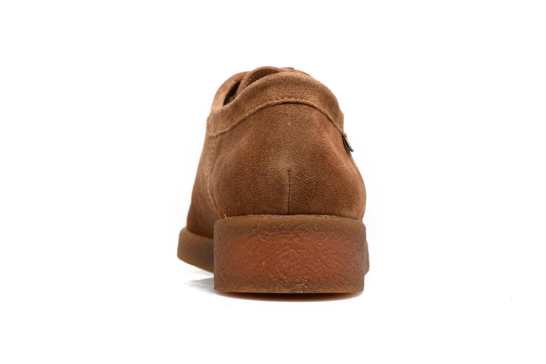 Chaussures à lacets Mephisto Christy Marron vue droite