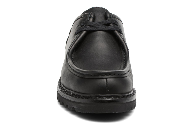 Chaussures à lacets Mephisto Peppo Noir vue portées chaussures