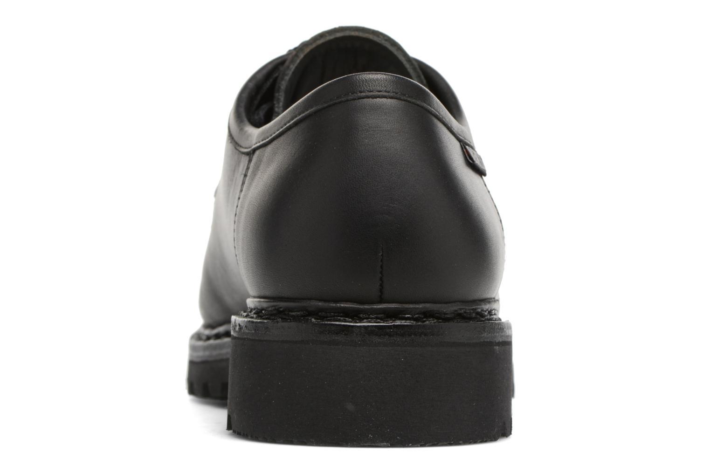Chaussures à lacets Mephisto Peppo Noir vue droite