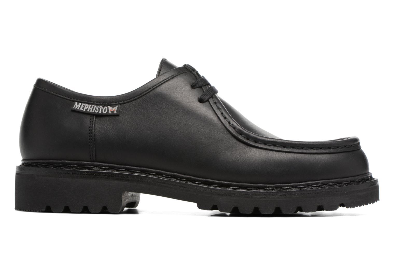 Chaussures à lacets Mephisto Peppo Noir vue derrière