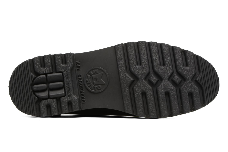 Chaussures à lacets Mephisto Peppo Noir vue haut