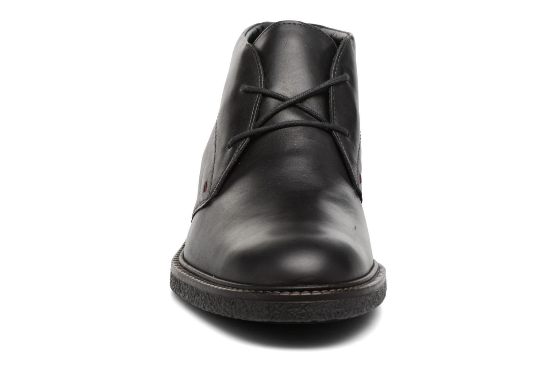 Chaussures à lacets Mephisto Gerald Noir vue portées chaussures