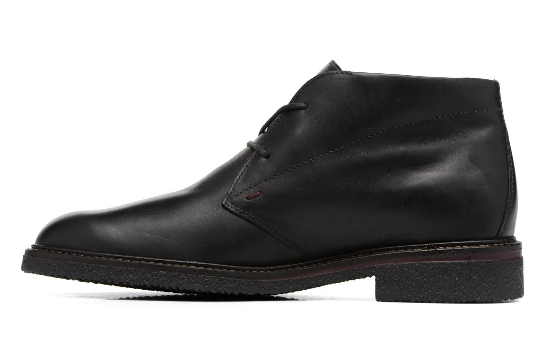 Chaussures à lacets Mephisto Gerald Noir vue face