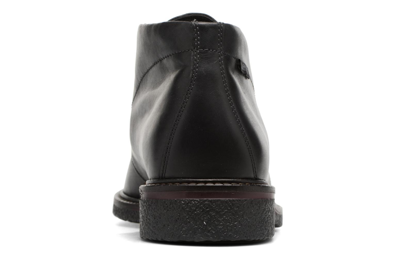 Chaussures à lacets Mephisto Gerald Noir vue droite