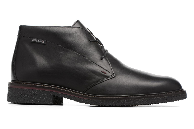 Chaussures à lacets Mephisto Gerald Noir vue derrière