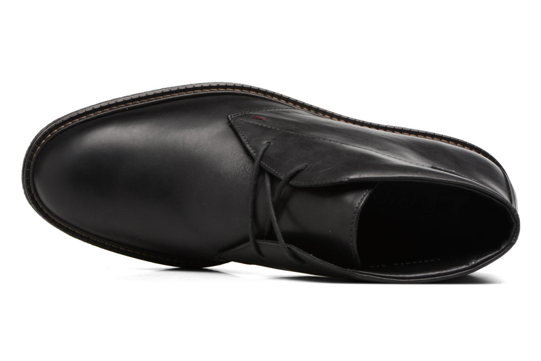Chaussures à lacets Mephisto Gerald Noir vue gauche