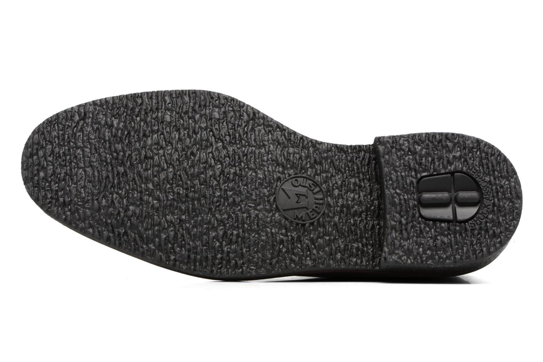 Chaussures à lacets Mephisto Gerald Noir vue haut