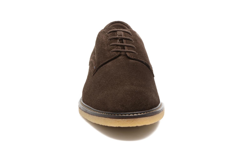 Chaussures à lacets Mephisto Gianni Marron vue portées chaussures