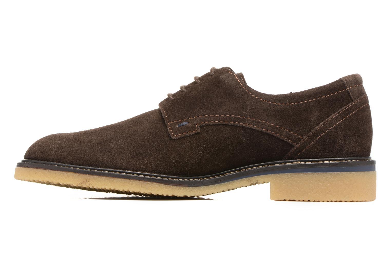 Chaussures à lacets Mephisto Gianni Marron vue face