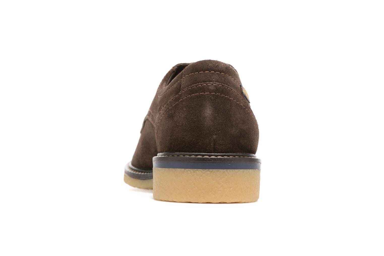 Chaussures à lacets Mephisto Gianni Marron vue droite