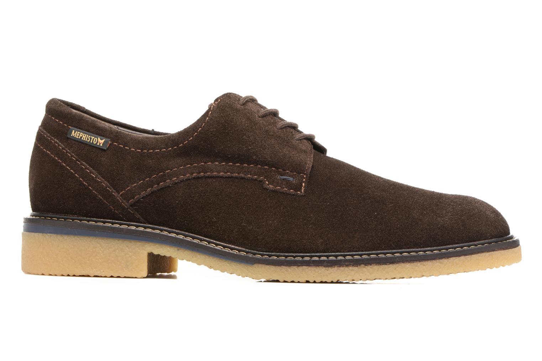 Chaussures à lacets Mephisto Gianni Marron vue derrière