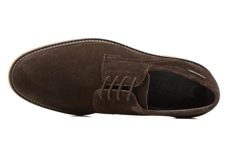 Chaussures à lacets Mephisto Gianni Marron vue gauche