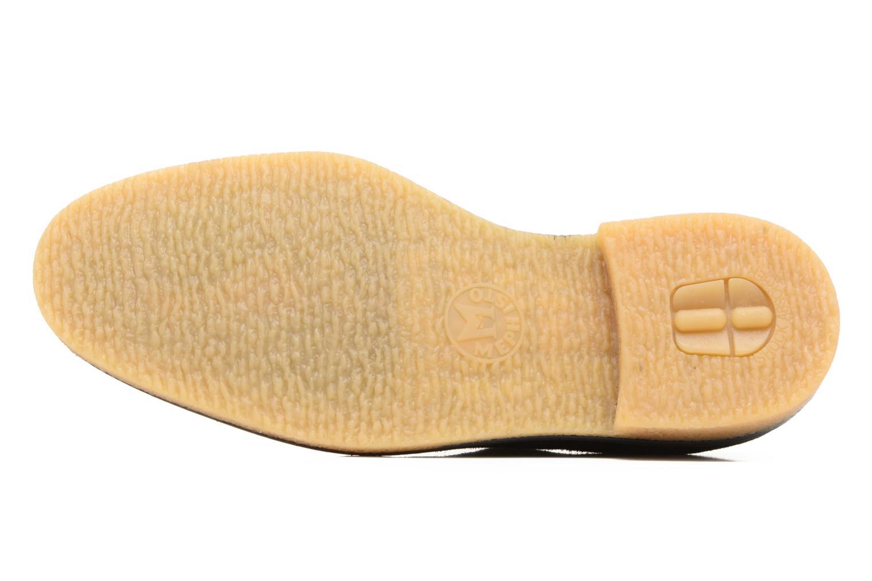 Chaussures à lacets Mephisto Gianni Marron vue haut