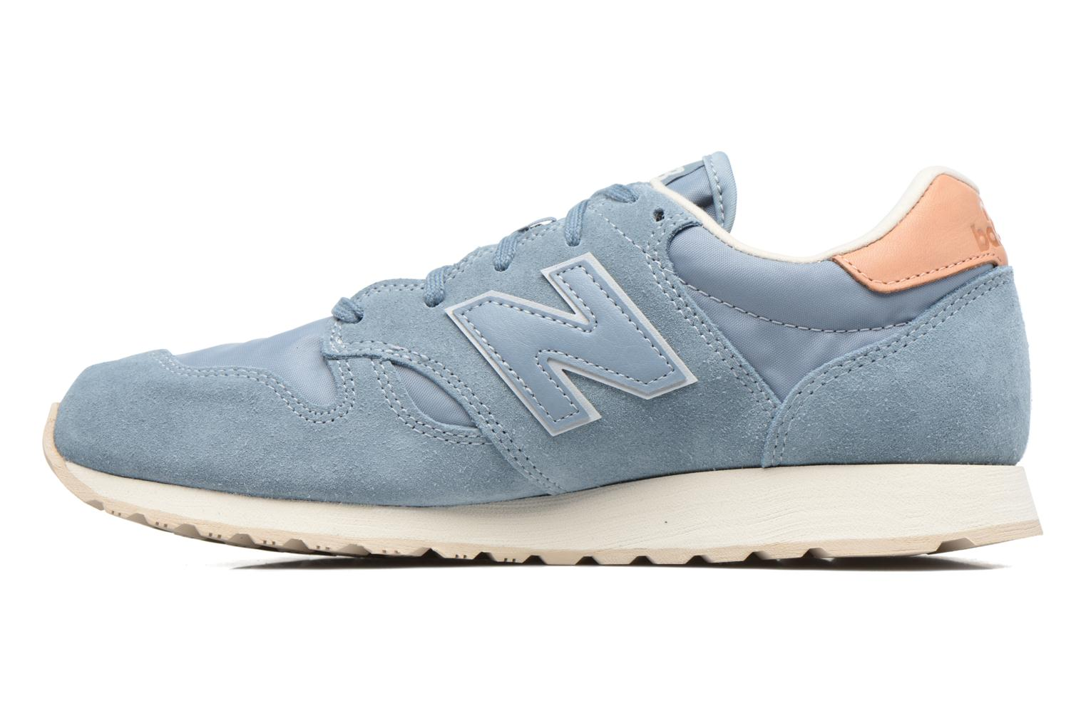 Baskets New Balance WL520 Bleu vue face